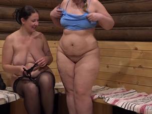 Russian bbw lesbian!