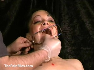 Face punished mature slave..
