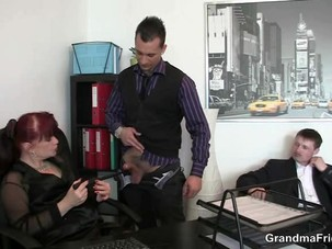 Office mature bitch riding cock..