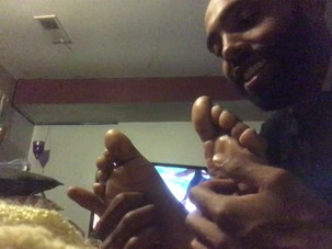 Mature Ebony Foot Ticke pt 1