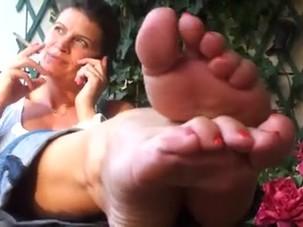 French Mom's Feet