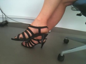 Candid French Mature Feet..