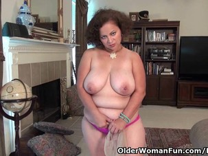 Voluptuous milf Marie Black..