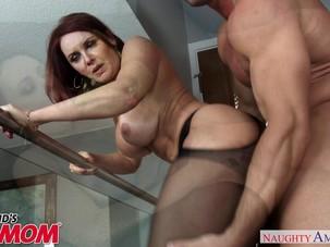 Redheaded MILF Janet Mason..