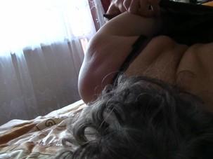 Mature Dana in armbinder