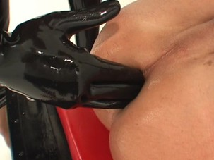 Mistress Fingering Slave Ass