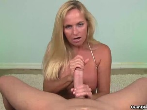 Mature slut wants a cumshot