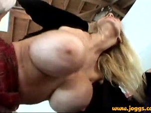 Tara Moon gets her huge silicon..
