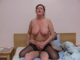 Russian mature lady
