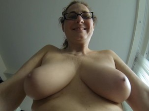 My mature saggy tits and my..