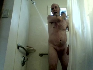 Shaving and playing with my Toys