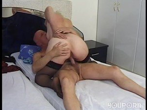 Granny N Grandpa Making LOve