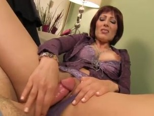 milf jerks friend