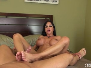 Jewels Jade Footjob