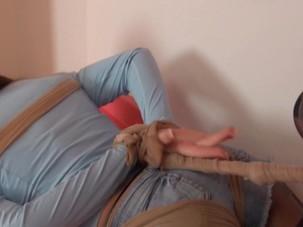 Malivu Pantyhose Hogtie