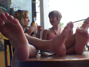 Double foot worship
