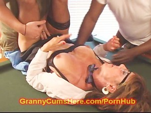 Old GRANNY turns SLUT at the..