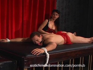 Mistress Natasha Sweet has fun..